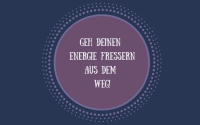 Geh deinen Energiefressern aus dem Weg!