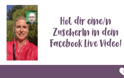 Facebook Live im Interview Modus direkt vom Smartphone ist da!