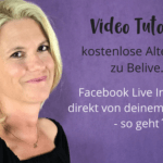 Facebook Live Interview – gratis Alternative zu BeLive.TV