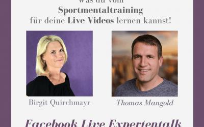 Mentaltraining und Live Videos – Live Interview mit Thomas Mangold