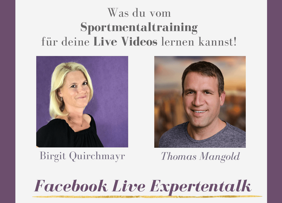 Mentaltraining und Live Videos – Live Interview mit Thomas Mangold