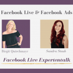 Facebook Live und Facebook Ads – Live Interview mit Sandra Staub