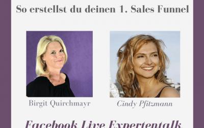Mein erster Sales Funnel – Live Interview mit Cindy Pfitzmann