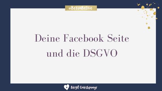 Facebook Seite und EugH und DSGVO – eine Übersicht ohne Anspruch auf Vollständigkeit und keine Rechtsberatung!