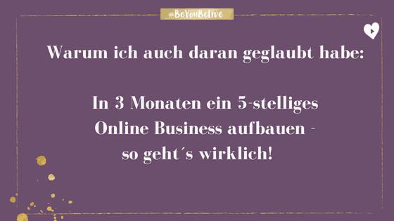 Online Business aufbauen – so geht es wirklich!