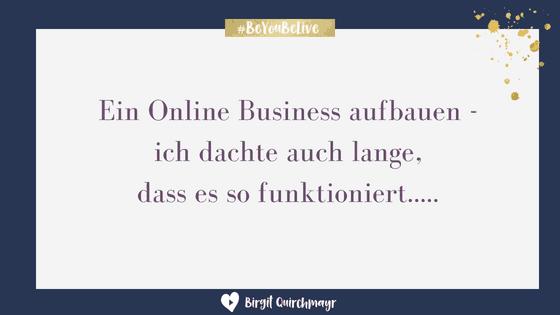 Online Business aufbauen – es funktioniert so und nicht so!