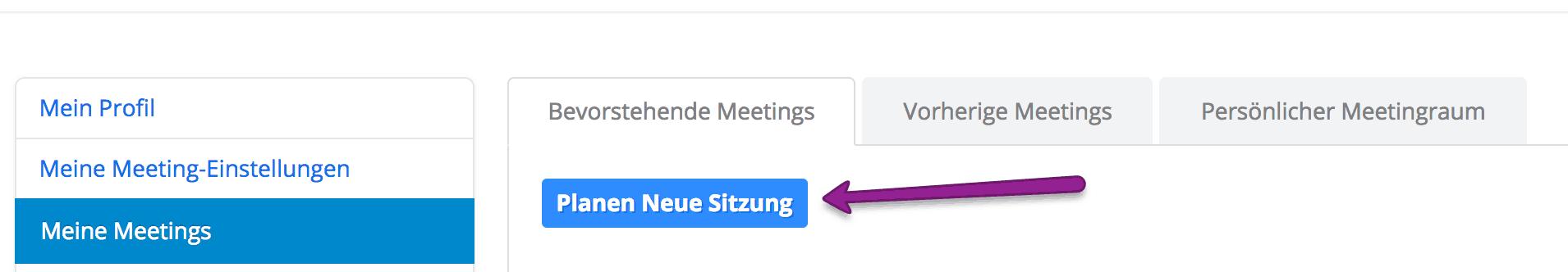 Zoom Meeting anlegen und Live Stream einrichten