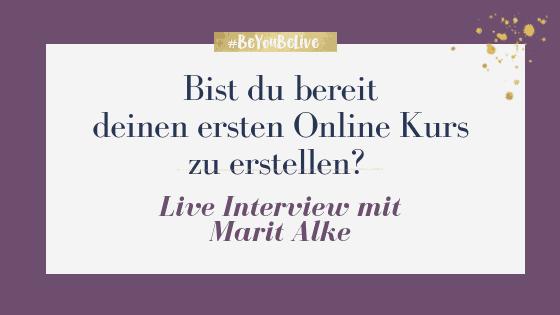 Bist du bereit deinen ersten Online Kurs zu erstellen?