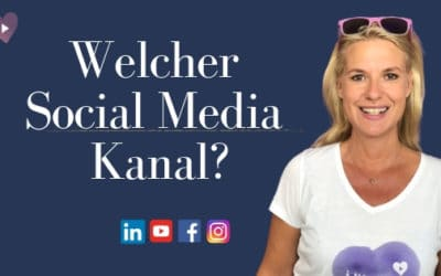 Welcher Social Media Kanal?