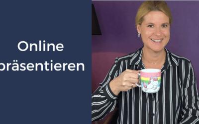 Online präsentieren